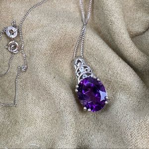 Jewelry - 💜Genuine African Amethyst Pendant💜